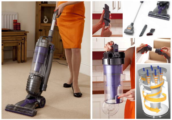 Vax U90-MA-R Air Reach Multicyclonic Upright Bagless Vacuum Cleaner
