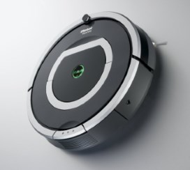 Picture of a robot vacuum cleaner