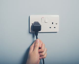 picture of a wall socket