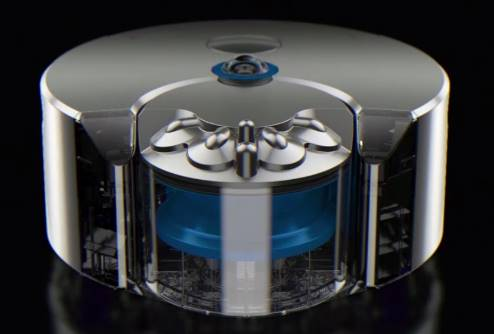 Check out this new Dyson Robot Vacuum