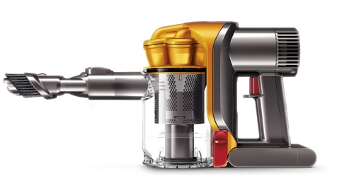 picture of the Dyson DC34 handheld vac