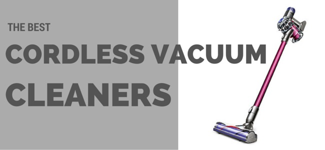 heasder banner featuring a picture of a dyson cordless vacuum cleaner